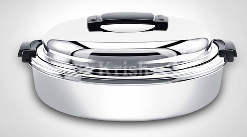 Oval Hot Pot with Dome lid
