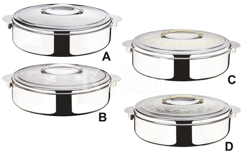 Deluxe oval Hot pot W ss Locks