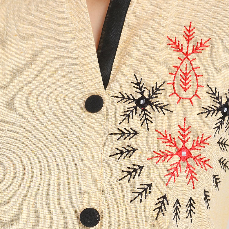 Cotton Embroidered Kurti
