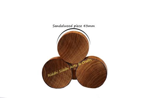 43 mm Round Sandalwood bead
