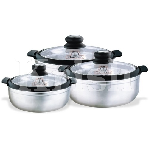 Florence Hot pot with Glass Lids
