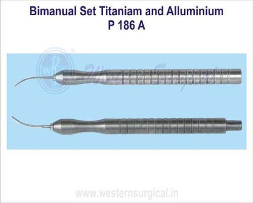 Bimanual Set Titaniam and Alluminium