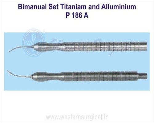 Bimanual Set Titaniam and Alluminium