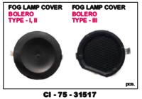 Fog Lamp Cover Bolero Type Iii