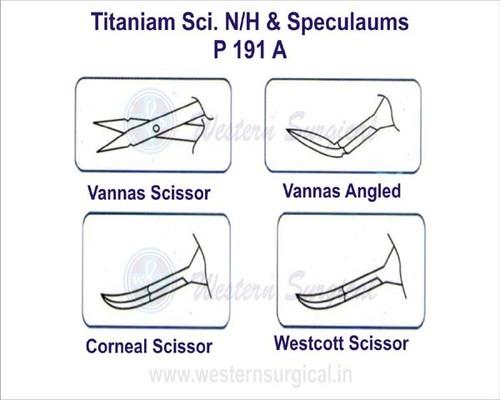 Titaniam Sci. N H & Speculaums