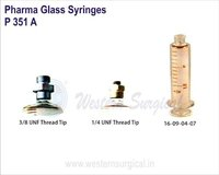 Pharma Glass Syringes