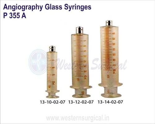 Angiography Glass Syringes