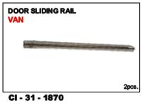 Door Sliding Rail Van