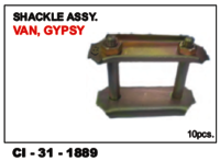 Shackle Assy Van, Gypsy