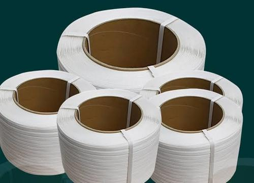 Semi automatic box strapping roll