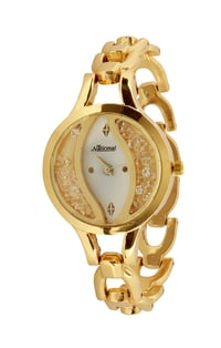 Golden ladies wrist watch