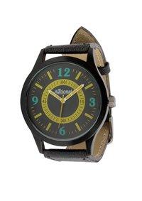 Brown belt wrist watch for men