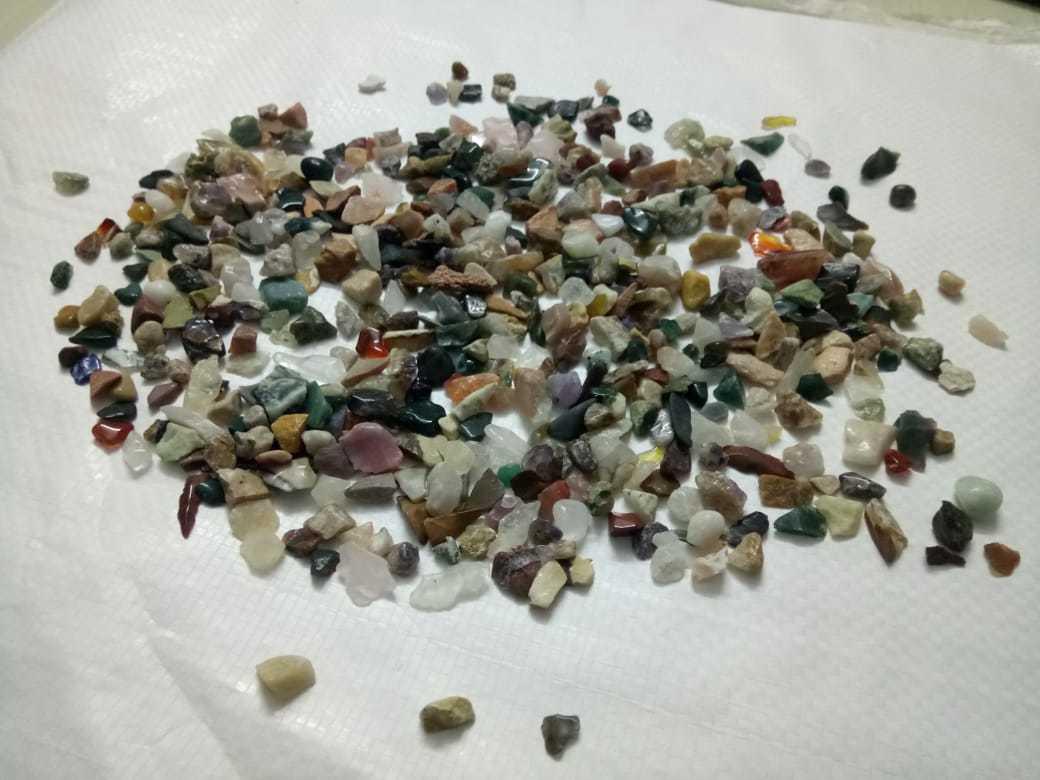 Amethyst Quartz Polished Gravels