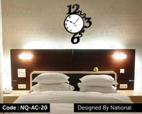 Acrylic wall clock for bed room