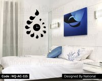 Bed room acrylic watch