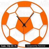Kids bedroom acrylic wall clock