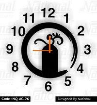 Om and Krishna God Acrylic watch