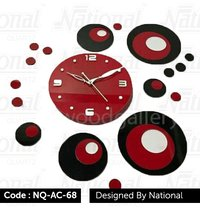 Acrylic Wall clock for office
