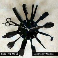 Barber parlour beauty salon acrylic watch