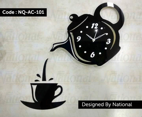 Restaurant Cafe Hotels Kitchens acrylic wall clock