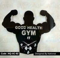 Gym wall clock