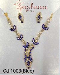 Multi colour necklace set