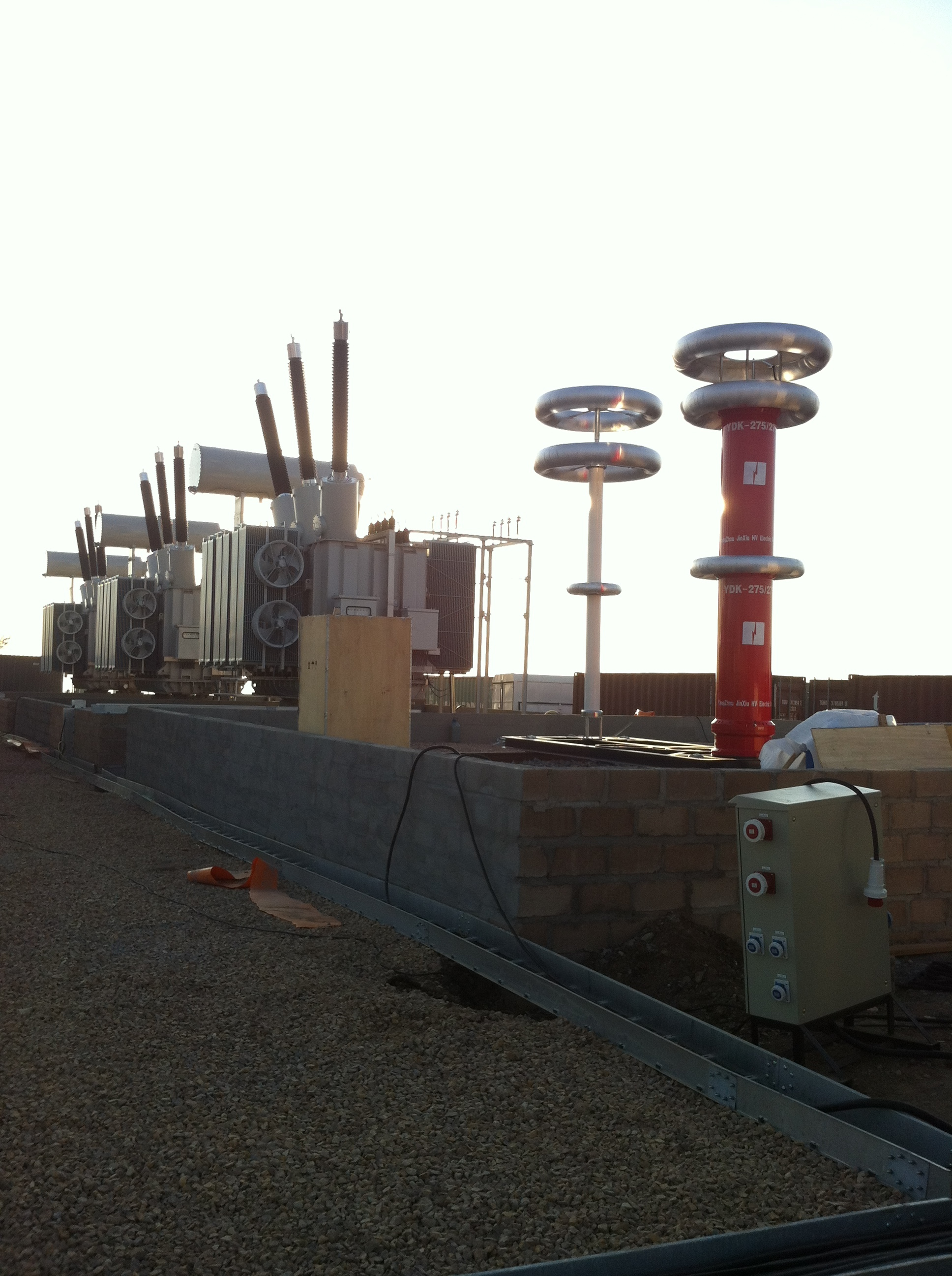 Variable Frequency AC Resonant Test Systems