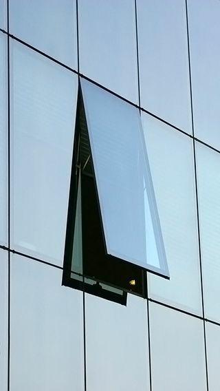 Reflective & color Aluminum Structural Glazing