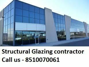 REFLECTIVE & COLOR ALUMINIUM STRUCTURE GLAZING