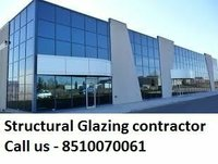 Reflective & color Aluminum Structural Glazing