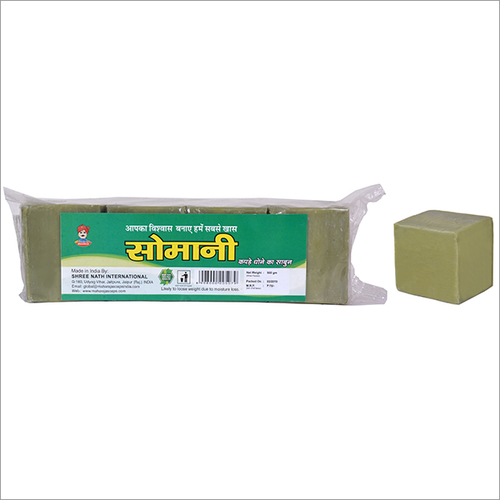 Somani Premium Green Laundry Soap (Chokor Die) 900 Gm