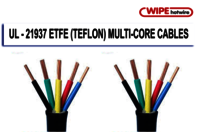UL 21937 ETFE Insulated Multicore Cables