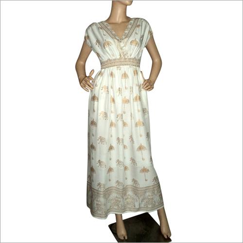 Ladies Fancy Long Dress