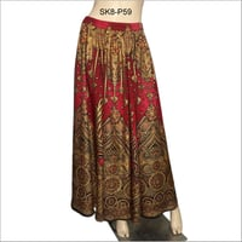 Ladies Casual Long Skirt