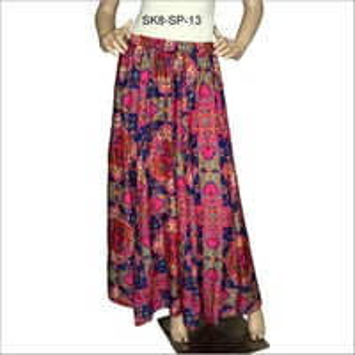 Ladies Fancy Long Skirt