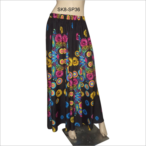 Ladies Summer Long Skirt