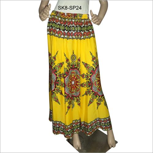 Ladies High Waist Long Skirt