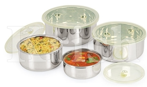 Insulated Container with PP Lid - 4 pcs