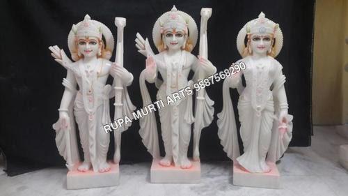Stone Ram Darbar Marble Statue