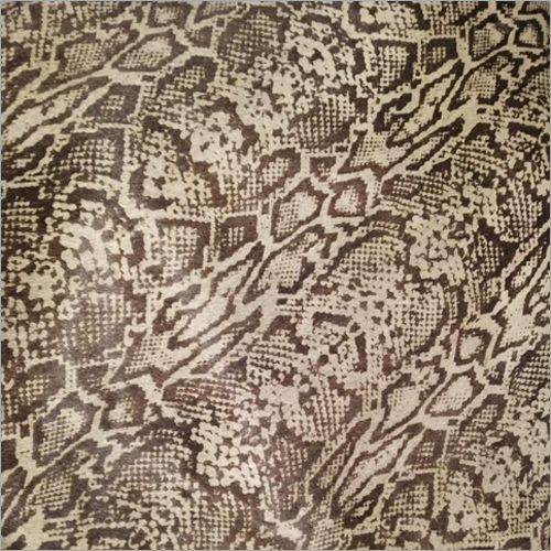 Snake Print Leather