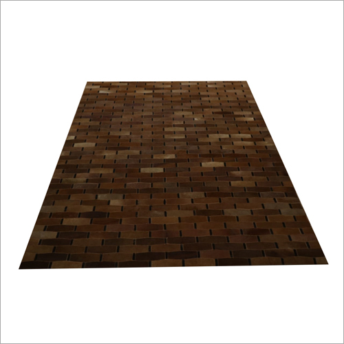 Leather Designer Floor Carpet