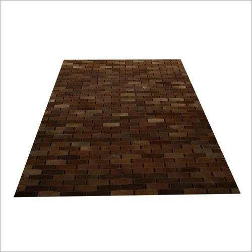 Leather Designer Floor Carpet