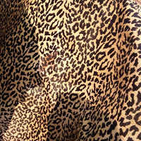 Leopard Printed  Leather