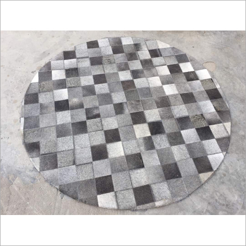 Round Grey Area Rugs