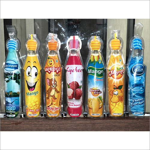 Bottle Shape Pouches
