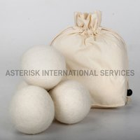 Felt Dryer Ball - White Color