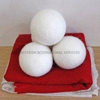 Felt Dryer Ball - White Color