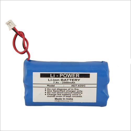 2500 mAh POS Machine Lithium Ion Battery