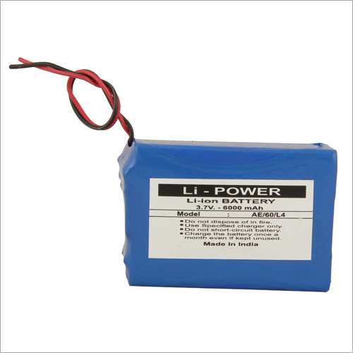 6000mAh ASSET Tracker Lithium Ion Battery