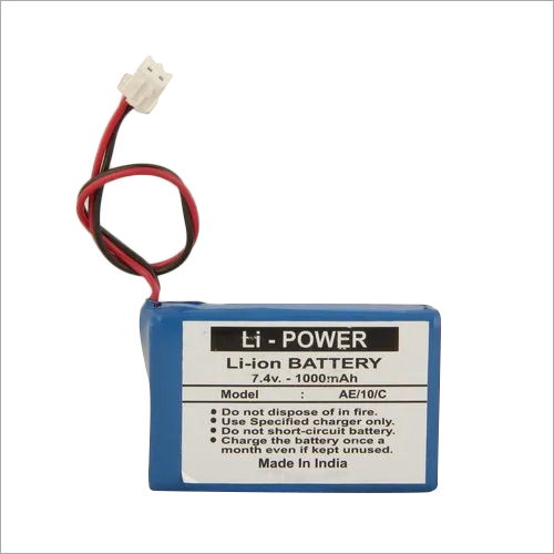 7.4 V Lithium Ion Battery